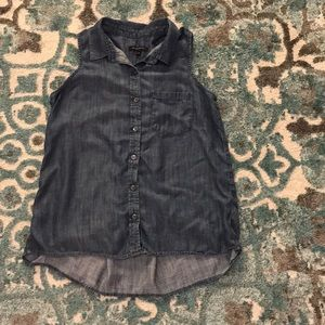 Banana Republic Jean blouse